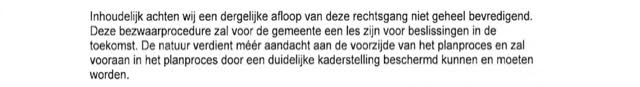 Brief gemeente Bergstraat 28